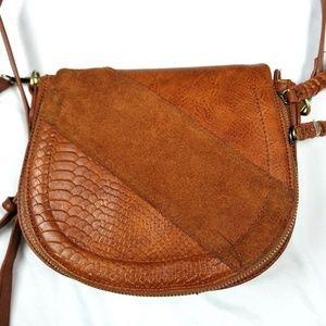 Antik kraft handbag crossbody flap top boho